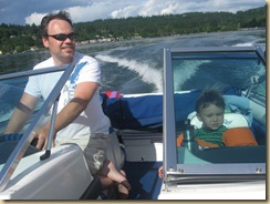 Father's Day and First day with our Boat 057
